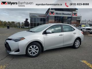 Used 2018 Toyota Corolla CE  -  Bluetooth - $108 B/W for sale in Ottawa, ON