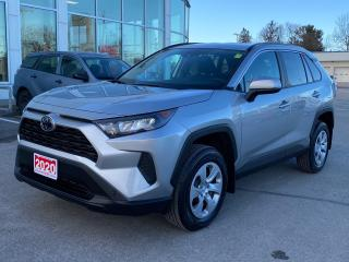 Used 2020 Toyota RAV4 LE AWD+PLATINUM WARRANTY-80,000 KMS! for sale in Cobourg, ON