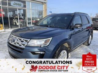 Used 2018 Ford Explorer XLT | AWD | B/U Cam | Htd Seats | Btooth | 7 Passenger for sale in Saskatoon, SK