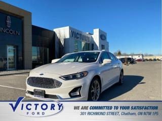 Used 2020 Ford Fusion Hybrid Titanium | ADAPTIVE CRUISE | NAVIGATION for sale in Chatham, ON