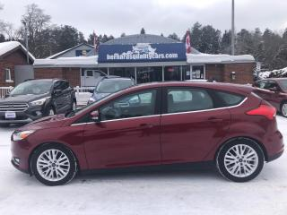 Used 2016 Ford Focus Titanium LEATHER SUNROOF REMOTE START NAV for sale in Flesherton, ON