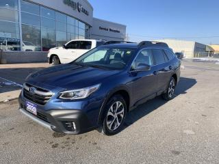 Used 2020 Subaru Outback Limited XT Nav/Heated Seats/Leather/Sunroof for sale in Chatham, ON