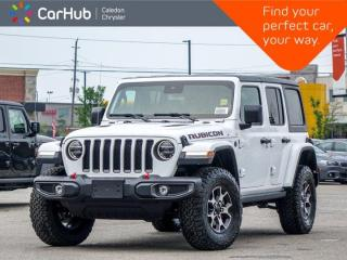 New 2021 Jeep Wrangler Unlimited Rubicon 4x4 Hard Top Navigation Leather Remote Start Heated Front Seats LED Group 17