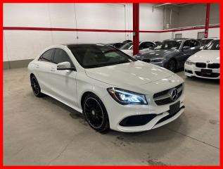 Used 2018 Mercedes-Benz CLA-Class CLA250 4MATIC NAVIGATION PANORAMIC PREMIUM SPORT for sale in Vaughan, ON