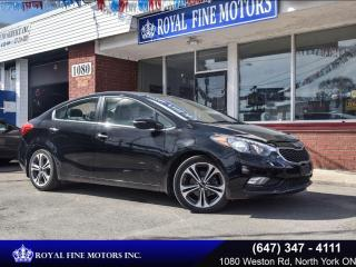 Used 2016 Kia Forte 4DR SDN AUTO SX for sale in Toronto, ON