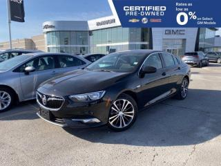 Used 2019 Buick Regal Sportback Preferred II FWD | Remote Vehicle Start for sale in Winnipeg, MB