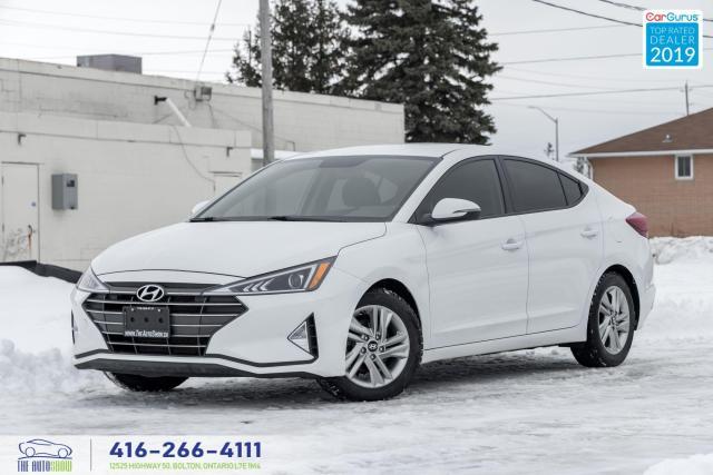 2019 Hyundai Elantra Preferred|Camera|Clean Carfax|Htd seats-steering|