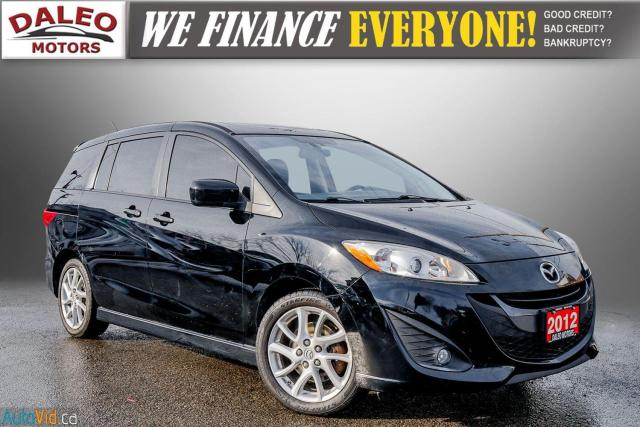 2012 Mazda MAZDA5 GT / 6 PASS / LEATHER / SUNROOF / HEATED SEATS/