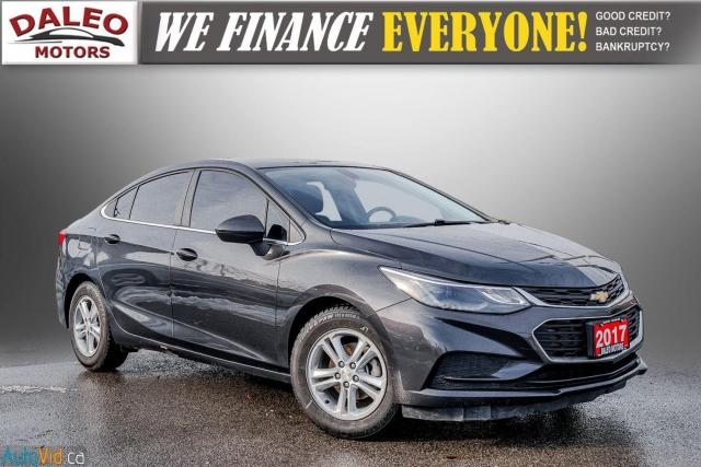 2017 Chevrolet Cruze LT /  BACKUP CAM / HEATED SEATS / USB /