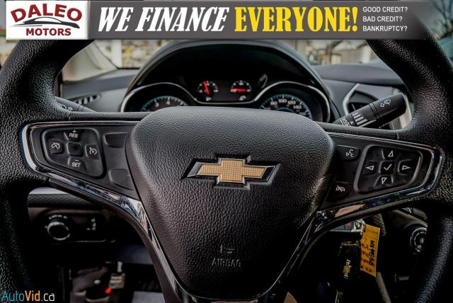 2017 Chevrolet Cruze LT /  BACKUP CAM / HEATED SEATS / USB / Photo19