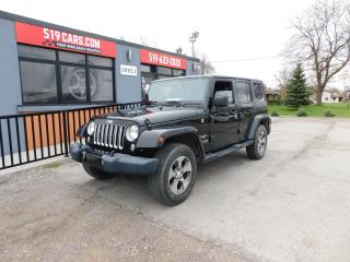 Used 2018 Jeep Wrangler Sahara | Both Tops | Nav for sale in St. Thomas, ON