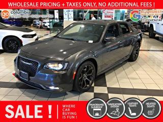 Used 2020 Chrysler 300 300S - Accident Free / Nav / Pano Sunroof / Leather for sale in Richmond, BC