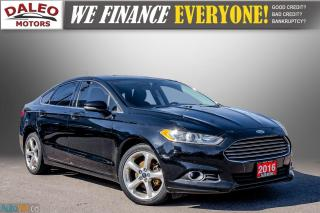 Used 2016 Ford Fusion SE / REMOTE START / MOON ROOF / BACK UP CAM,/ for sale in Hamilton, ON
