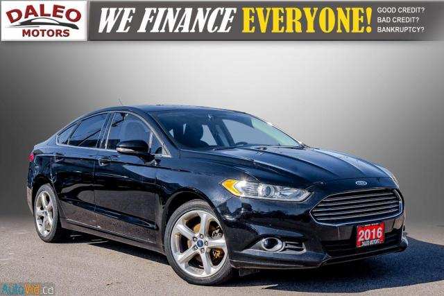 2016 Ford Fusion SE / REMOTE START / MOON ROOF / BACK UP CAM,/ Photo1
