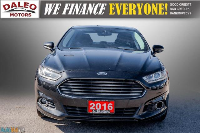 2016 Ford Fusion SE / REMOTE START / MOON ROOF / BACK UP CAM,/ Photo2