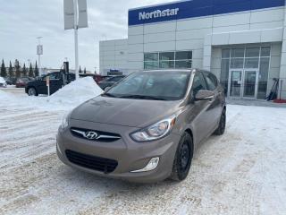 Used 2014 Hyundai Accent GLS HATCH/AUTO/SUNROOF/ALLOYS/HEATEDSEATS for sale in Edmonton, AB