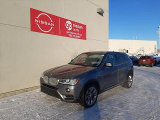Used 2017 BMW X3 xDrive28i / AWD / Leather / Back Up Camera / Heated Seats for sale in Edmonton, AB