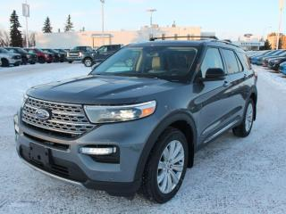 New 2021 Ford Explorer Limited | 4WD | Heated/Cooled Leather | Moonroof | 20