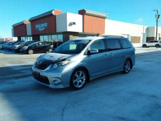 Used 2013 Toyota Sienna SE 4dr FWD Minivan for sale in Steinbach, MB