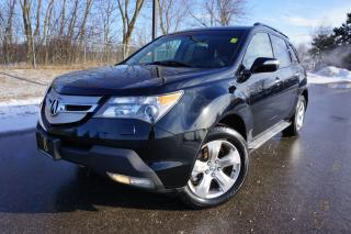 Used 2009 Acura MDX 1 OWNER / ELITE PACKAGE / 7 PASSENGER / DVD / NAVI for sale in Etobicoke, ON