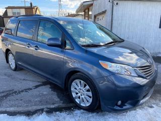 Used 2014 Toyota Sienna XLE ** BLIND SPOT WARN, BACK CAM, HTD LEATH ** for sale in St Catharines, ON