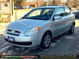 Used 2009 Hyundai Accent Manual SE|LOW KM|NO ACCIDENT|WARRANTY|CERTIFIED for sale in Oakville, ON