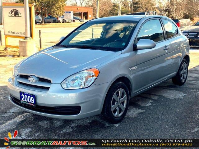 2009 Hyundai Accent Manual SE|LOW KM|NO ACCIDENT|WARRANTY|CERTIFIED