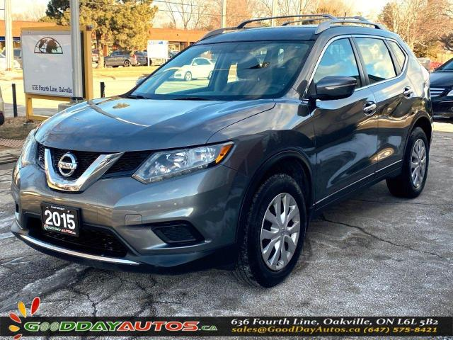 2015 Nissan Rogue S|NO ACCIDENT|SINGLE OWNER|AWD|CERTIFIED