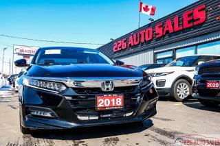 Used 2018 Honda Accord Touring|ACCIDENT FREE|BACKUP CAM|SUNROOF|HEATED SE for sale in Brampton, ON
