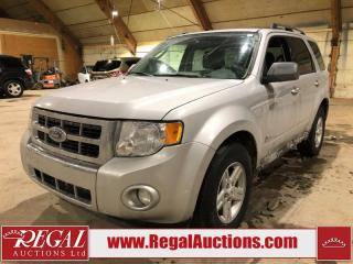 Used 2009 Ford Escape Hybrid 4D Utility AWD for sale in Calgary, AB