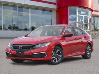 New 2021 Honda Civic EX for sale in Winnipeg, MB