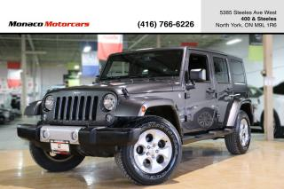 Used 2014 Jeep Wrangler SAHARA 4WD - NAVIGATION|HEATED SEAT|BLUETOOTH for sale in North York, ON