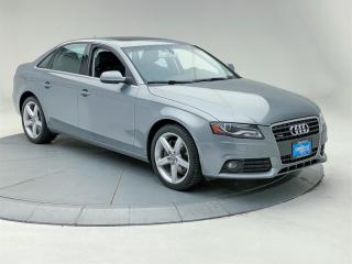 Used 2011 Audi A4 2.0T Prem Tiptronic qtro Sdn for sale in Burnaby, BC