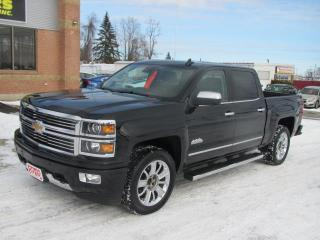 Used 2015 Chevrolet Silverado 1500 HIGH COUNTRY CREW CA for sale in Brockville, ON