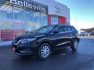 Used 2017 Nissan Rogue S AWD HEATED SEATS BLUETOOTH SATALITE RADIO for sale in Belleville, ON