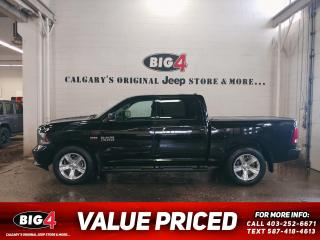Used 2013 RAM 1500 SPORT for sale in Calgary, AB