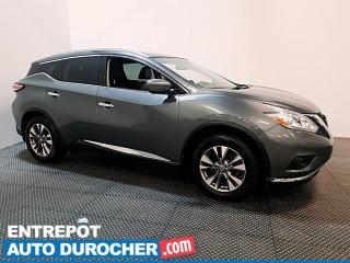 Used 2017 Nissan Murano SL AWD -CUIR - NAVI - SIÈGES ET VOLANT CHAUFFANTS for sale in Laval, QC