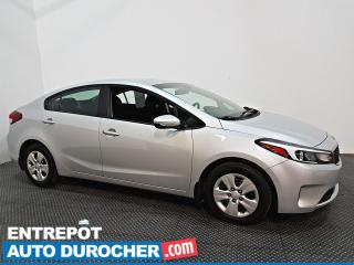 Used 2018 Kia Forte ÉCONOMIQUE - BLUETOOTH for sale in Laval, QC