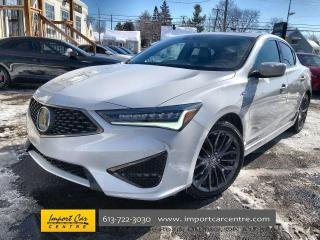 Used 2019 Acura ILX Premium A-Spec A-SPEC  LEATHER/SUEDE INTERIOR   RO for sale in Ottawa, ON