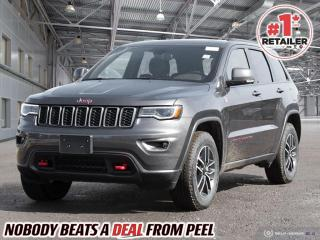New 2021 Jeep Grand Cherokee Trailhawk for sale in Mississauga, ON