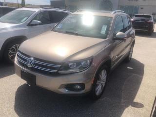 Used 2016 Volkswagen Tiguan PREMIER HIGHLINE,NAVIGATION,LEATHER,SUNROOF for sale in Slave Lake, AB