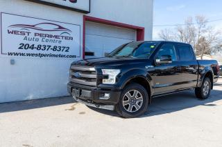 Used 2017 Ford F-150 4WD SuperCrew   Lariat for sale in Winnipeg, MB