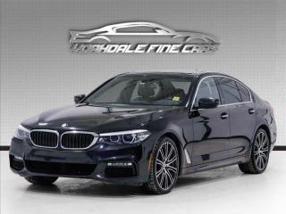 Used 2017 BMW 5 Series 540i xDrive, M Sport. Blind Spot. Navi. Reverse Cam. for sale in Concord, ON