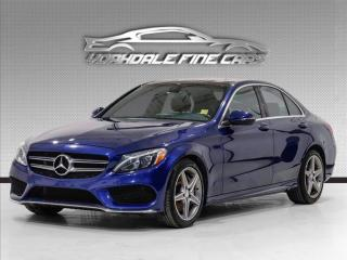 Used 2017 Mercedes-Benz C-Class C300 4MATIC Navigation, Camera, Blind Spot, Panoramic for sale in Concord, ON