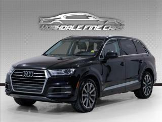 Used 2017 Audi Q7 quattro.Komfort +. 7 Pass. Navi. Pano. Camera for sale in Concord, ON