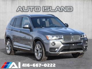 Used 2017 BMW X3 xDrive28i**NAVIGATION**ALL WHEEL DRIVE**77KMS!! for sale in North York, ON