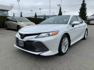 Used 2018 Toyota Camry XLE, Certified, No Accidents for sale in North Vancouver, BC
