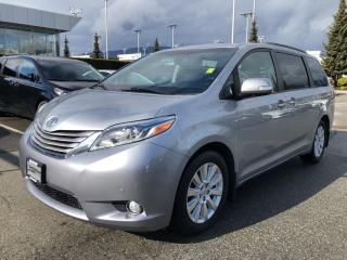Used 2015 Toyota Sienna XLE Limited, No Accidents for sale in North Vancouver, BC