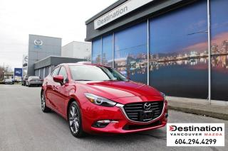 Used 2018 Mazda MAZDA3 GT-Loaded!, with 160pt. peace of mind inspection! for sale in Vancouver, BC