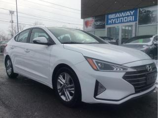 Used 2019 Hyundai Elantra Sun and Safety - Sunroof - Apple Car Play for sale in Cornwall, ON